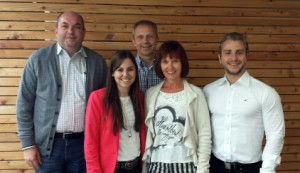 Jürgen Haas, Magdalena Haas, Dr. Norbert Grebe, Barbara Schäfer, Andreas Brunner